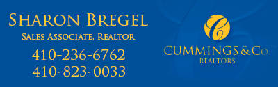 Residential Real Estate Sales - Sharon Bregel, Sales Associate, Realtor, Cummings and Company Realtors, Baltimore Ruxton Towson Timonium Maryland